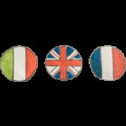 logo bandiere guida turistica lago di garda