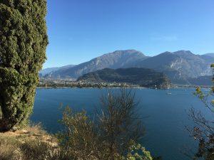 Vista dal Ponale sul Riva del Garda