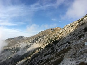 rifugio sul monte baldo