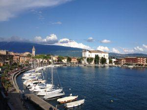 Maderno lago di Garda piazza