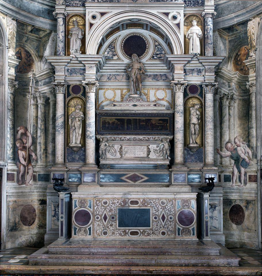 tomba di san Rocco a Venezia