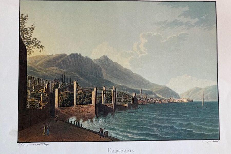 A spasso sul lago di Garda con le stampe ottocentesche di J.J. Wetzel